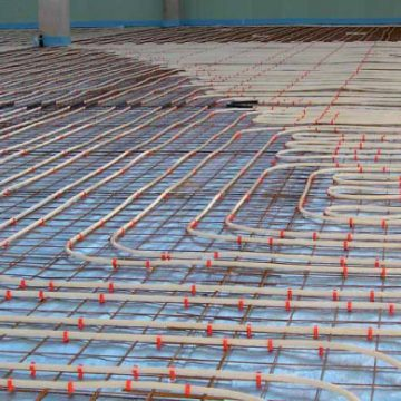 Industry System – Supporting Bars (Underfloor heating)